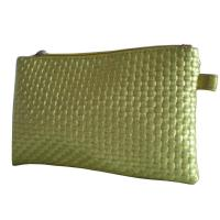 Wholesale Gold Woven Veins Leatheroid Wallet Bag, Fabric Carrier Bags With Leather Loop from china suppliers