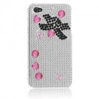 Wholesale Imperial crown Rhinestone Hard Case For iPhone 4 4S from china suppliers