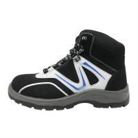 China Impact Absorbing Mens Comfortable Work Shoes 3 / 16 Depth Insole Steel Cap Work Boots on sale
