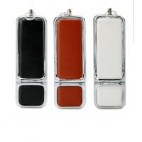 Wholesale Personalized Leather USB Flash Drive Promotional Gift   2GB 4GB 8GB Customized from china suppliers
