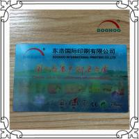 China Moving Pictures 3D Print Business Cards Polish / Matte Surface on sale