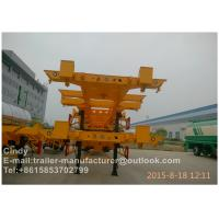 International Standard Container Trailer Chassis For Loading 20ft 40ft Containers