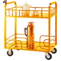 Wholesale Titanium Gold Stainless Steel Tea Trolley-Serving Cart from china suppliers