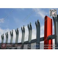 """Wholesale """"D"""" section pale Steel Palisade Fencing (Manufacturer/Exporter) from china suppliers"""