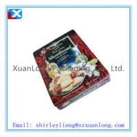 Wholesale Rectangular cookies tin from china suppliers