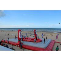 Wholesale Huge Inflatable Beach Toys Blow Up Volleyball Court With Logo Printing from china suppliers