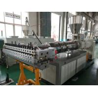 China Surface Crusting Wpc Board Making Machine Waterproof Environmental - Friendly on sale