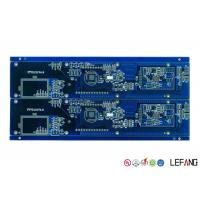 Wholesale Blue Solder Mask Fr4 Copper Clad Circuit Board , Timer PCB Board Lightweight from china suppliers