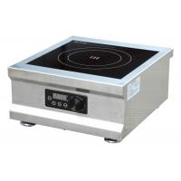 Wholesale 5000W Energy Saving Commercial Induction Cooker Easy Operation 400x450x200mm from china suppliers