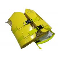 China Pull Cord Foam Life Vest Shoulder Strap Withstand Stronger Pulling Force for sale
