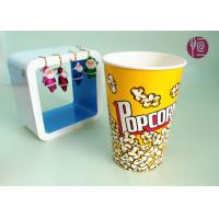 Wholesale 46oz Top120mm Disposable Paper Popcorn Buckets 1275ml Volume BRC FDA from china suppliers