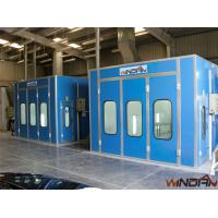 2x3KW Side Draft Paint Booth WD-200 Double-Intake Centrifugal Fans