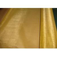 Wholesale Brass Copper Wire Mesh / Bare Copper Wire Netting For Filter Non Magnetic from china suppliers