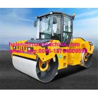 Wholesale Unique Heavy Construction Machinery , XCMG 12 Ton Double Drum Vibration Roller Mount Type XD123 from china suppliers