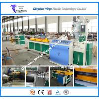 Wholesale Plastic Single Wall Corrugated Pipe Extrusion Line Machinery Corrugated Pipe Plastic Manufacture Machinery from china suppliers