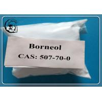 Wholesale Nature Borneol Oral Anabolic Steroids CAS 507-70-0  MF C10H18O white powder from china suppliers