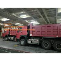 Wholesale 336hp Red Left Hand Drive Dump Truck 6x4 Sinotruk Howo7 Brand URO II Emission from china suppliers