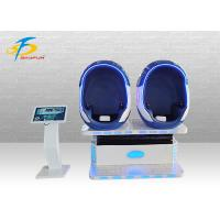 Wholesale Two Players VR Egg Chair + 80 PCS Amazing Movies 42 Inch Touch Screen from china suppliers