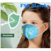 Wholesale 3D Design Children'S Disposable Face Masks With Breathing Valve Baby Mouth Earmuffs from china suppliers