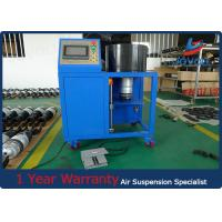 Quality Efficient Hydraulic Hose Crimping Machine For Land Rover Air Suspension Spring for sale
