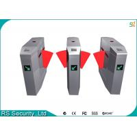 Wholesale Metro Direct Entrance Flap Barrier Gate 304 Stainless Steel Pedestrian Turnstile from china suppliers
