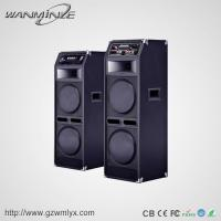 China High quality super bass woodern 10 inch stage speaker with fm/usb/sd function on sale