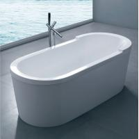 Wholesale classical resin Acrylic Stone Composite bathtub shower  freestanding baths tub jetted bathtubs from china suppliers