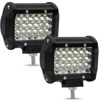 China Waterproof Vehicle Auto LED Lights truck 4inch 4 rows 72W working lights for sale