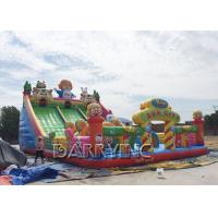 Wholesale Digital Printing PVC 0.55mm Large Inflatable Slides For Kids / Adult CE from china suppliers