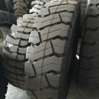 China Solid forklit tire 14.00-24, high quality solid tire 1400-24, industry solid tire 14.00-24 black nylon tire on sale