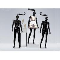 Wholesale Glossy Black Long hair Shop Display Mannequin For Garment Display from china suppliers
