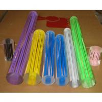 Wholesale Customized Extruded Acrylic Rods And Tubes , Colorful Acrylic Thread Rod from china suppliers