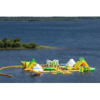 Wholesale Customized Inflatable Water Park Equipment Bay Gardens Splash Island Water Park from china suppliers