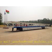 Wholesale SHMC 18m Vehicle Transport trailer  Car Carrier 18000 x 2400 x 3000 mm with FUWA Axle WITH ISO CCC APPROVAL from china suppliers