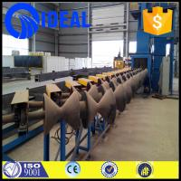Quality International and outer pipe cleaning shot blasting machine with ISO9001,CE certification for sale