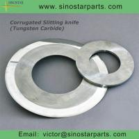 Wholesale tungsten carbide corrugated slitting knife from china suppliers