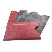 China Anti Theft Rfid Protection Wallets And Sleeves Passport Holders With Silk Printing for sale