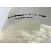 Quality Building Muscle Raw Steroid Powders , Drostanolone Enanthate Cutting Cycle CAS 472-61-1 for sale