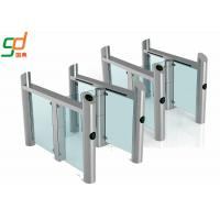 Wholesale Stainless Steel Supermarket Swing Gate RFID Access Control Speed Gates from china suppliers