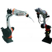 Steel Plates Arc Welding Robot , Automatic Mig Welding Machine Well Knit Structure for sale