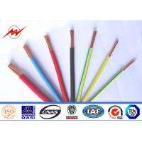 China Fire Resistance 300/500v Electrical Wire And Cable Pvc Sheathed on sale
