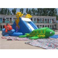 Wholesale Renting Waterproof Adult Inflatable Water Slide Pool For Backyard from china suppliers