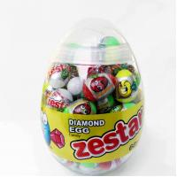 China 6g Diamond and Dinosaur Egg Shape Healthy Hard Candy ,Healthier Lollipop with good price on sale