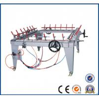 Wholesale Pneumatic mesh stretching machine for silk screen frame / Tighten net yarn screen printing machine for all  factory23 from china suppliers