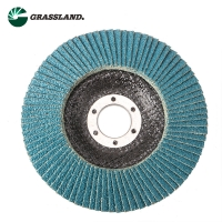 Wholesale 115mm 60 Grit Zirconium Angle Grinder Sanding Flap Disc from china suppliers