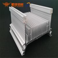 China Custom Black Anodized Aluminum Heat Sink Profile Aluminum extrusion heat sink profiles for sale