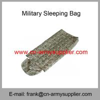 Wholesale Wholesale Cheap China Water-resistant Light-Weight Military Sleeping bag from china suppliers