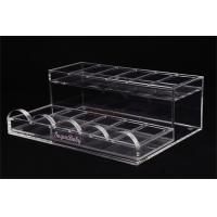 Wholesale Acrylic Retail Display Stands Nail Polish Shelf Clear 285×215×100 Mm For Makeup Shop from china suppliers