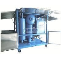 China Fully Enclosed Type Vacuum Heating Treatment Dielectric Oil Purifier Machine 9000LPH for sale