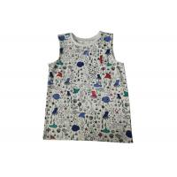 Wholesale Warm Kids Knitwear Natural Fibre 120g/M2 Printing Round Neck Sleeveless from china suppliers